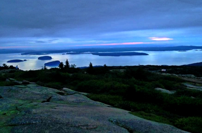 Sunrise from Cadillac Mountain, Acadia National Park