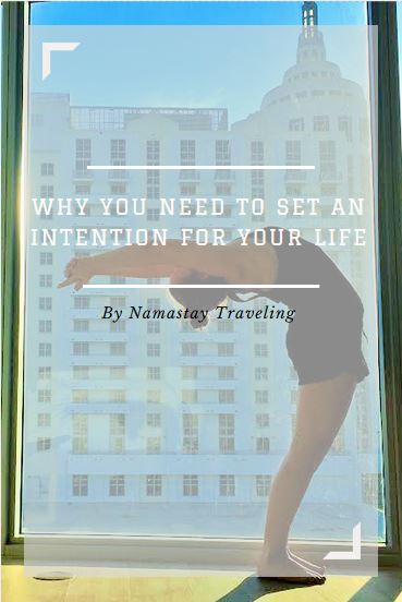 how to set an intention for your life