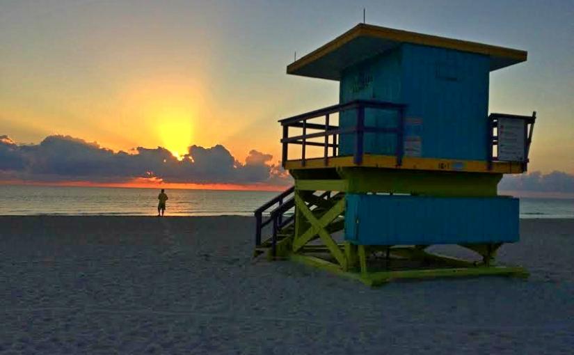 Three Days in South Beach,Florida