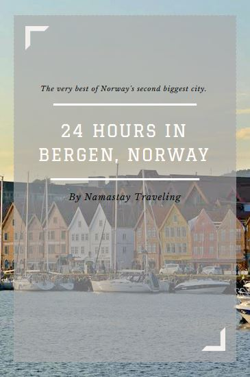 how to spend one day in bergen norway