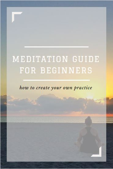how to create your own meditation guide