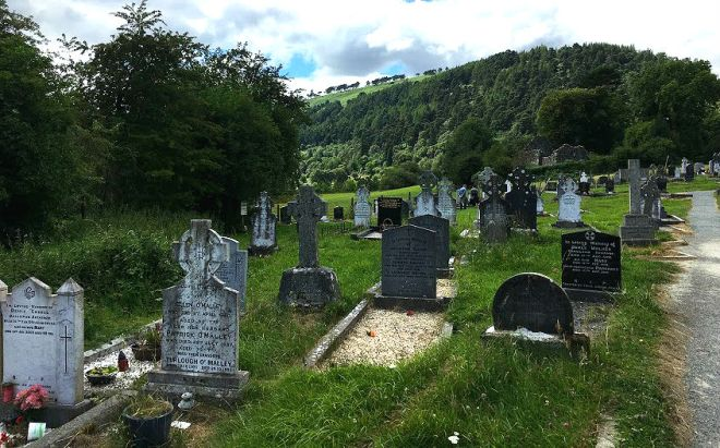 Glendalough Monastic Settlement on Wicklow Mountains Tour