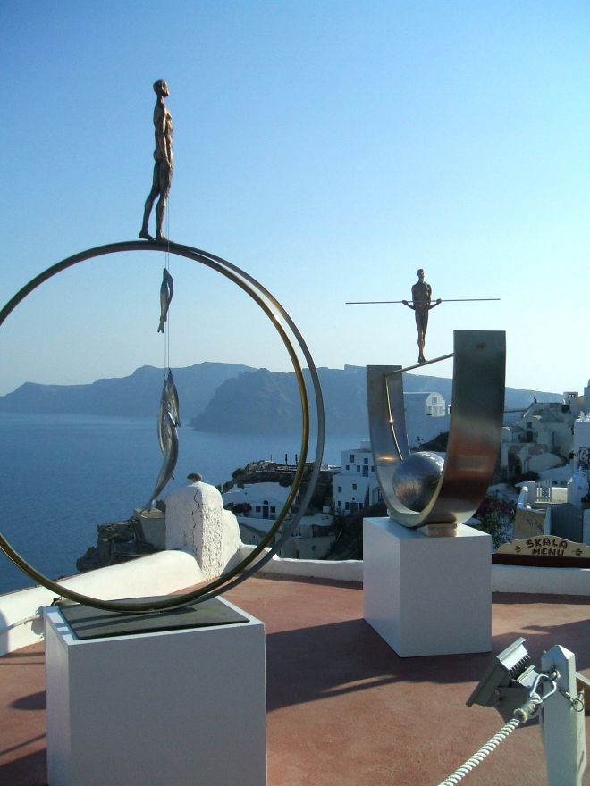Oia Art Galleries santorini greece