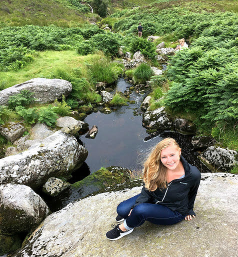 Bridge Creek in P.S. I Love You in Wicklow Mountains Tour from Dublin